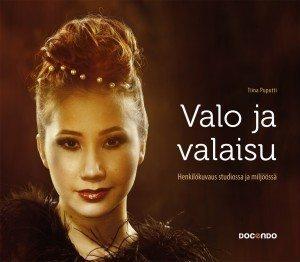 Valo ja valaisu kirjan kansikuva. Kirjoittanut Tiina Puputti.
