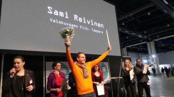Sami voitti arvostetun Vuoden Muotokuvaaja kilpailun Helsingin Messukeskuksessa Kuva & Kamera messuilla 7.9.2014
