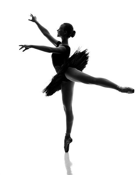 Fine art kuva balettitanssijasta