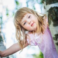 Lapsikuvaus Tampereen Hatanpään Arboretumissa